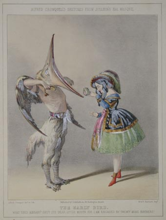 Alfred Crowquill's Sketches From Jullien's Bal Masque.