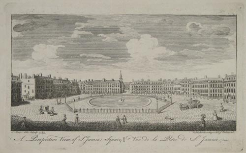 A Perspective View of St. James's Square.