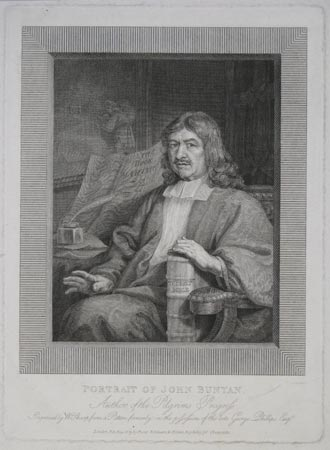 Portrait Of John Bunyan