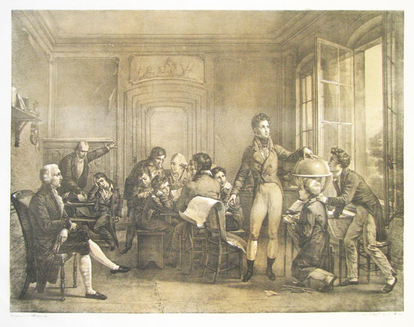 [France] [Louis Philippe instructing his children at Orleans House.]