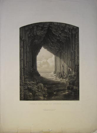 Fingal's Cave, From The Interior _ Staffa.