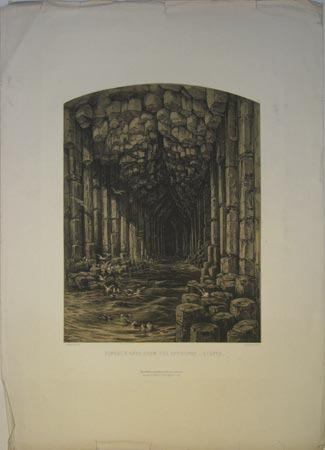 Fingal's Cave, From The Entrance _ Staffa.