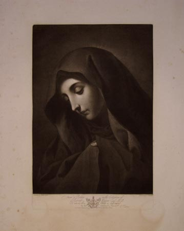 [The Madonna.]  From a Picture in the Collection of Robert Wigram Esqr. M.P.