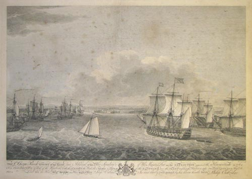 To Sir George Pocock, Knight of the Bath and Admiral of the Blue Squadron of his Majesty's Fleet, on the Expedition against the Havannah in 1762,