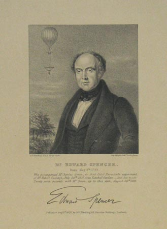 Mr. Edward Spencer. Born May 8th. 1799.