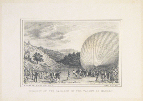 Descent of the Balloon in the Valley of Elbern.
