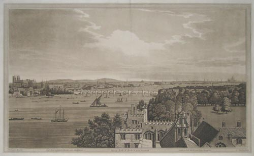 A View of London from Lambeth.