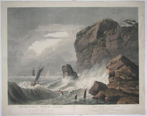 Miscellaneous British Scenery. No. 2nd Plate 4th St. Davids Head S.W.