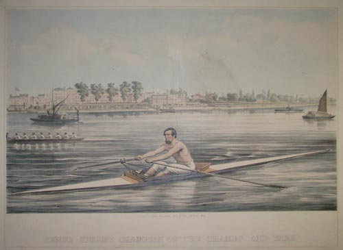 Henry Kelley Champion Of The Thames And Yare.