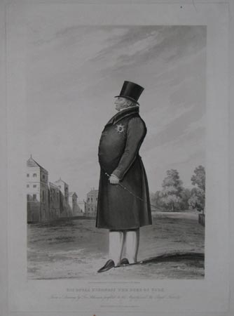His Royal Highness the Duke of York. From a Drawing by Geo. Atkinson profilist to His Majesty and the Royal Family.