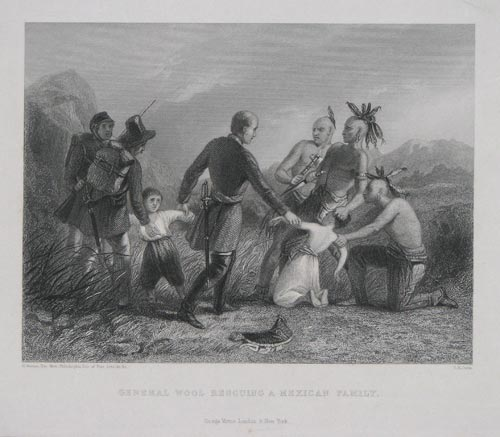 General Wool Rescuing a Mexican Family.