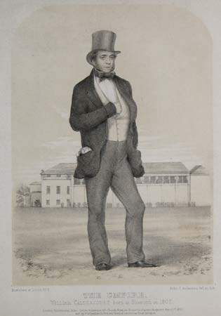 The Umpire. William Caldercourt, born at Blisworth in 1802.