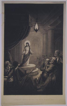 Christ Preaching To The Doctors.