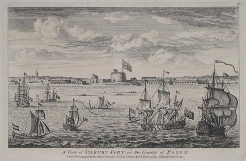 A View of Tilbury Fort,
