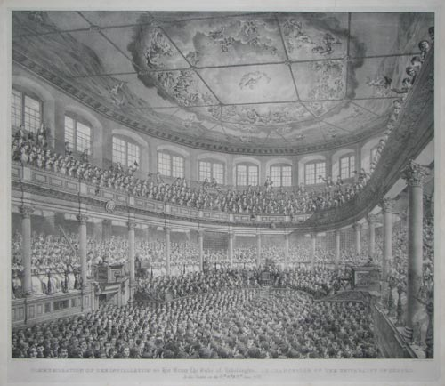 Commemoration of the Installation of his Grace the Duke of Wellington as Chancellor of the University of Oxford.