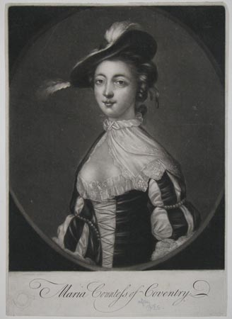 Maria Countess of Coventry.