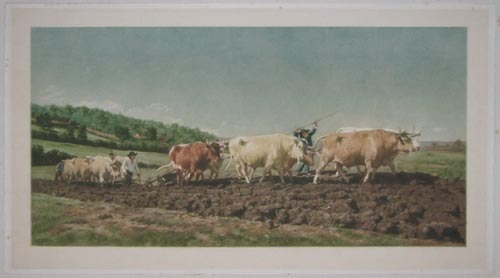 [Labourage nivernais, also called Le Sombrage  (Ploughing in Nevers, also called The First Dressing).]