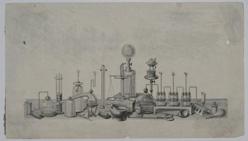 [A group of chemical instruments.]