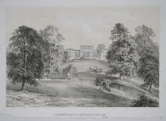 Colworth House, Bedfordshire, 1861.