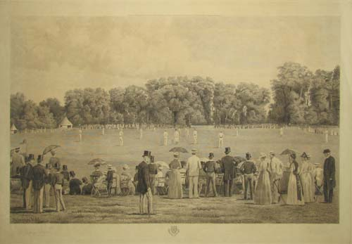 [Eton College. Playing Fields. Eton Winchester Match.]